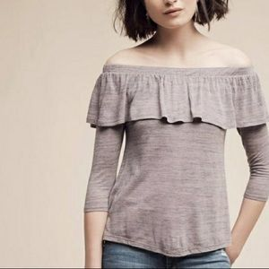 Dolan Charla Off Shoulder Top Anthropologie Small